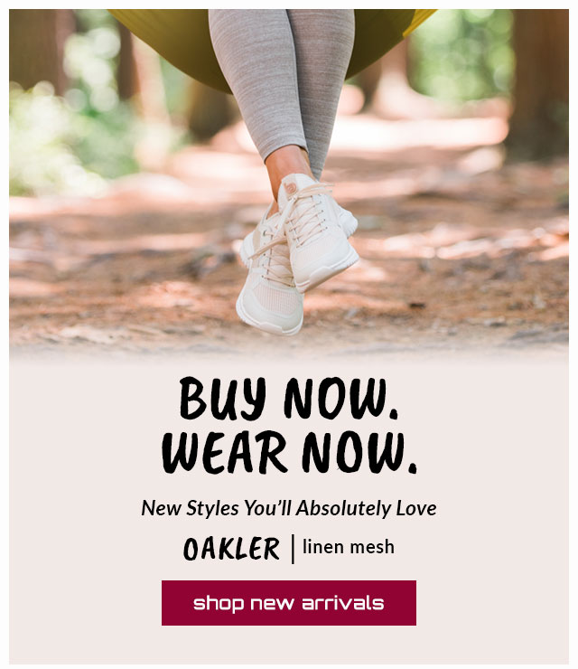 Buy Now. Wear Now. New Styles You'll Absolutely Love. Featured style: Oakler sneaker in white. Shop New Arrivals.
